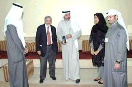 مع وزير الصحة / أ.د هـــلال الســـاير